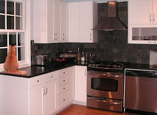 Snowy White Kitchen Cabinets