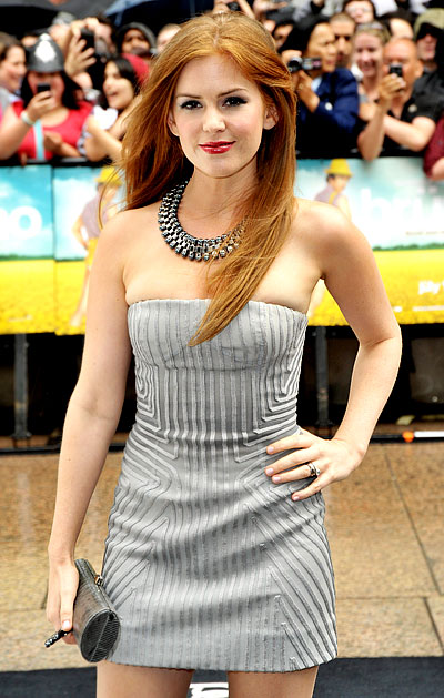 isla 061809 a Isla Fisher At the Premiere of Bruno in London