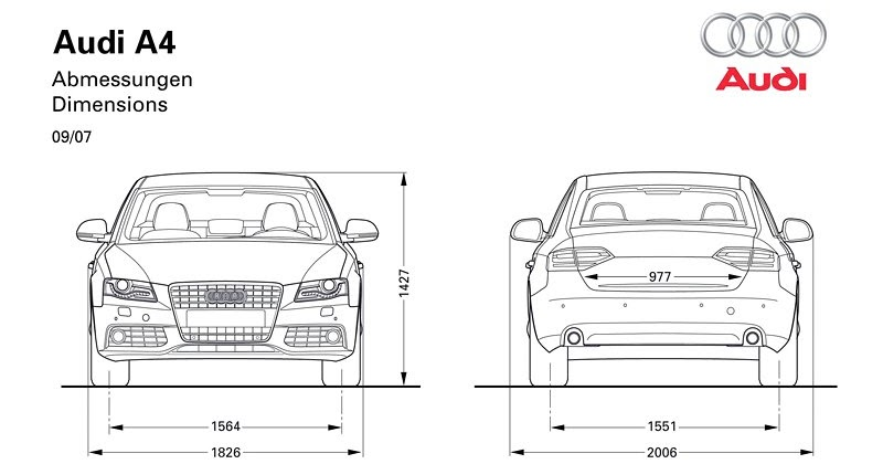 audi a4 a3 body engine and reinforcements