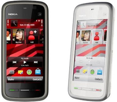 Nokia Launches 5230 & 5530 XpressMusic Touch Screen Phones in India