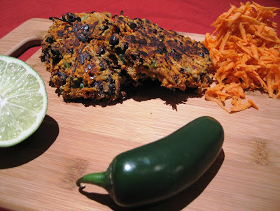 Little Scarlet: Spicy Black Bean Cakes