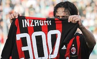 Su tanto 300 convierte a Inzaghi en parte de la historia del calcio
