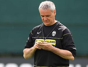 El entrenador romano abandona el banco de la Juve