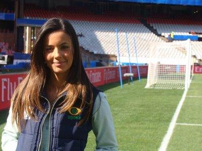 Paloma Tocci é nova apresentadora da RedeTV!