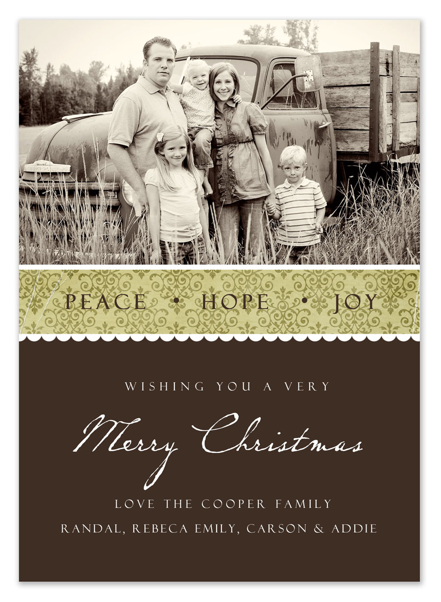 free christmas photo cards templates
