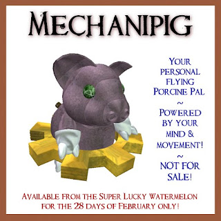 mechanipig from funny bunny