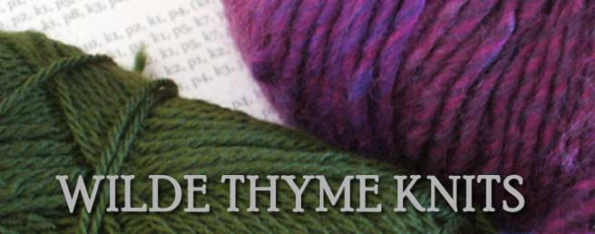 Wilde Thyme Knits