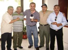 Con campeones mundiales 2010