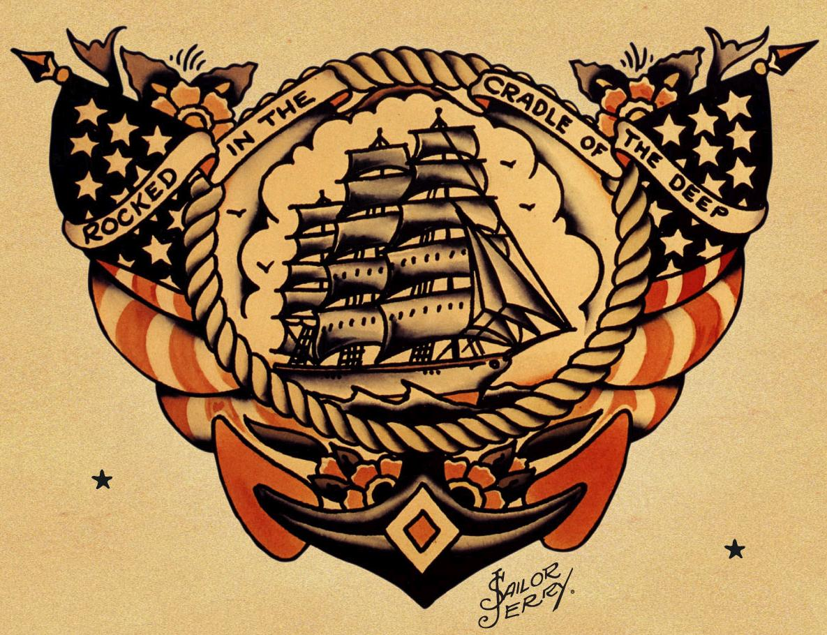 Hit it or quit it tattoo inspiration for Traditional navy tattoos