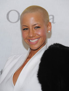 AMBER ROSE BUZZCUT HAIR INSPIRATION