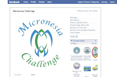 micronesia challenge on facebook