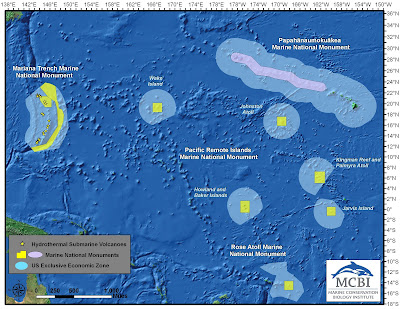 bush pacific marine monuments