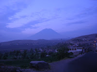 Dusk in Arequipa