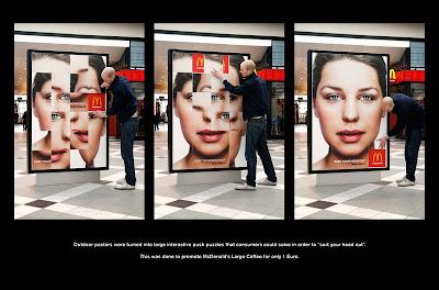McDonald's, midia, interativa, quebra cabeça, puzzle
