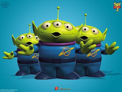 marcianos, homenzinhos verdes, toy story