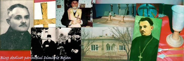 Blog dedicat părintelui Dimitrie Bejan