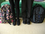 . new clothes to put on, packed lunches made and new school bags packed. (back to school)