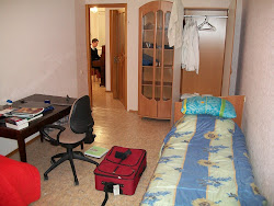 Chris' bedroom in Kharkov