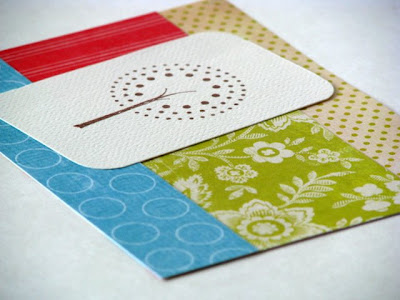 tree stamped card