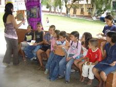 Lectura al parque San Joaquín.