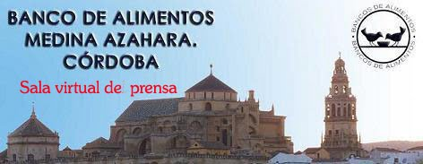 Sala virtual de prensa del Banco de Alimentos de Córdoba