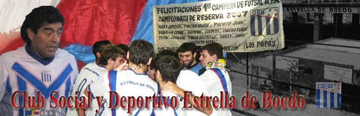 CLUB SOCIAL Y DEPORTIVO ESTRELLA DE BOEDO