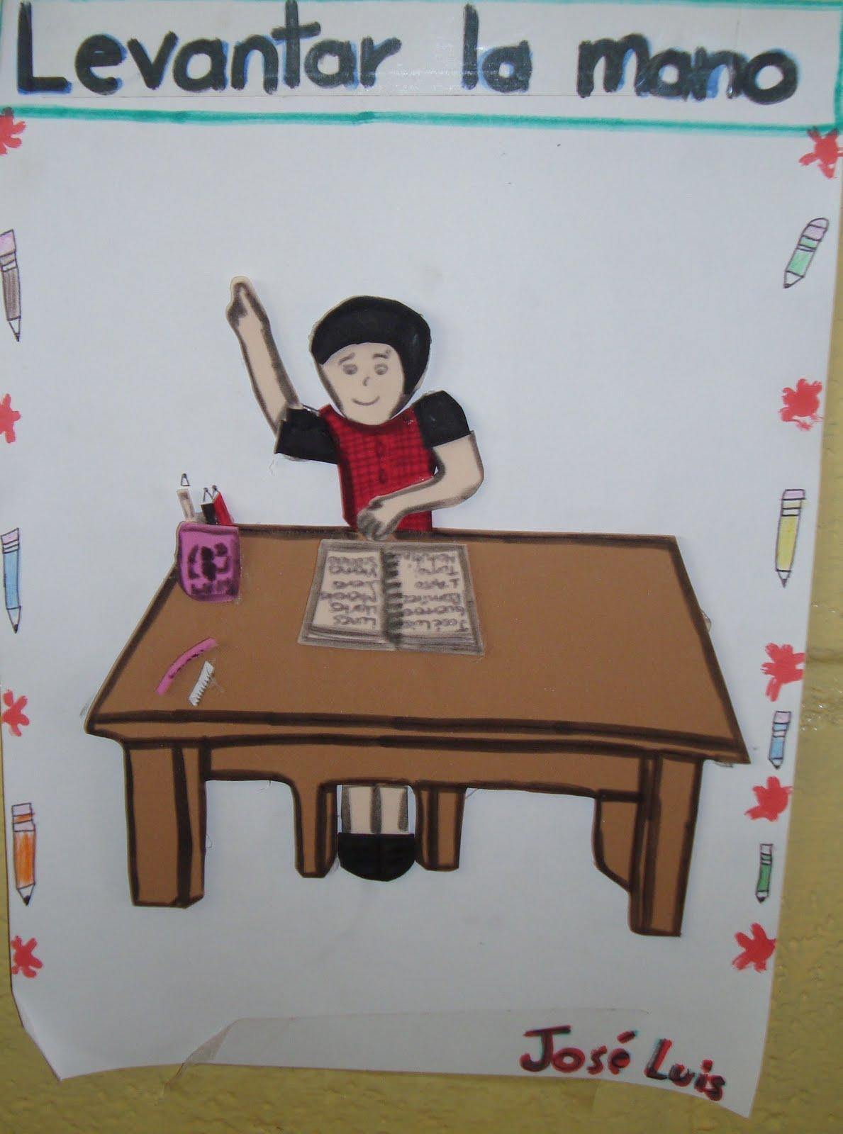 Esc prim f lix g lozano t m carteles de primer grado for 10 reglas para el salon de clases en ingles