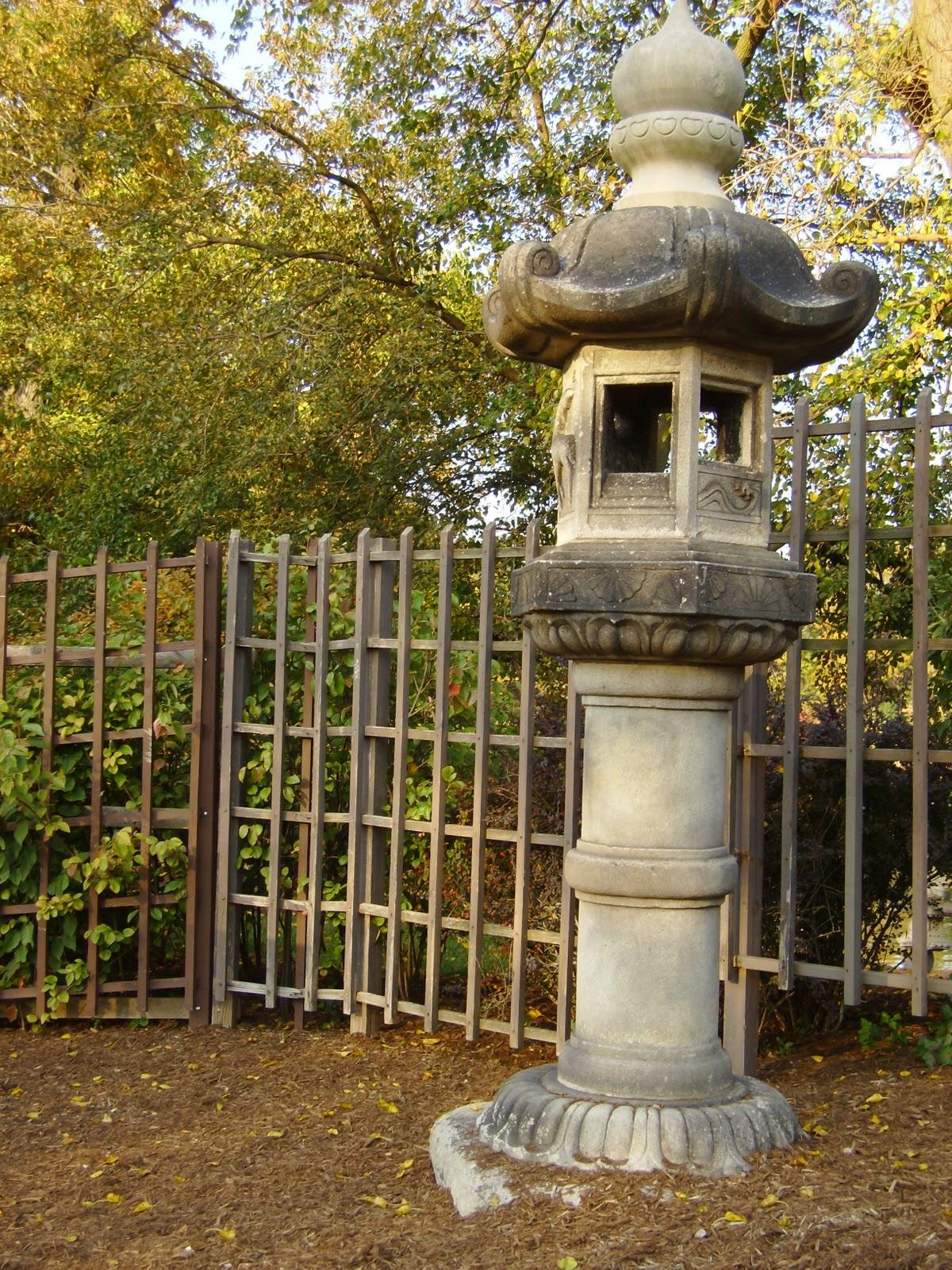Disaster Cat: Fall Visit to Japanese Garden, Jackson Park Chicago