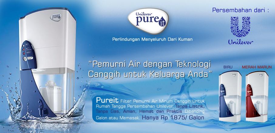 Pemurni Air PUREIT Unilever