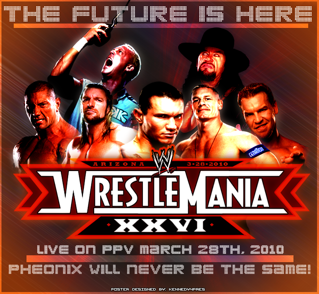 New Movie: WWE WrestleMania 26 XXVI (2010) PPV.HDTV.XviD-Cyb
