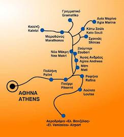 Αθήνα - Νέα Μάκρη - Aθήνα