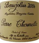 beaujolais wine organic unfiltered vissoux