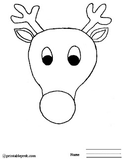 Search results for pin the nose on the reindeer template for Rudolph antlers template