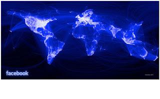 facebook friendship visualization world map