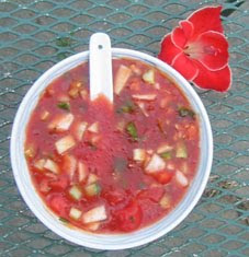 gazpacho+04 Gazpacho   Summertime Treat