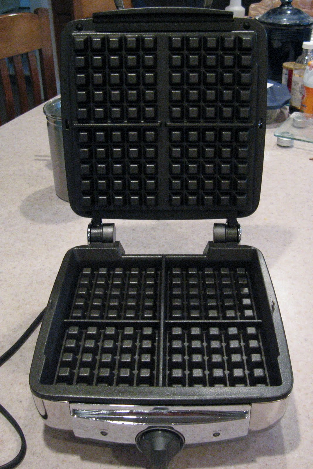 all clad waffle maker instructions