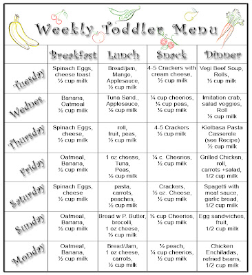 Oatmeal and the Toddler Meal Plan | Chasing Babies....Growing in Grace