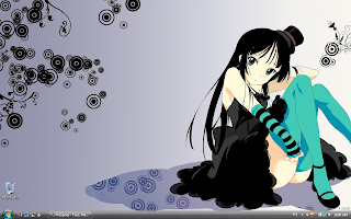 Coeli's Desktop is Mio