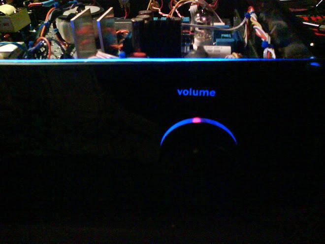 Ωmega stereo integrated amplifier