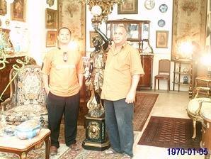 Melawat Kilang Perabot Antik di EGYPT