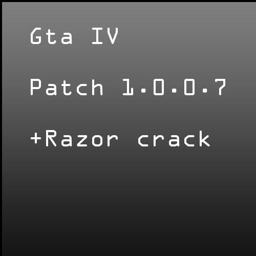 Gta 4 patch 1070 crack