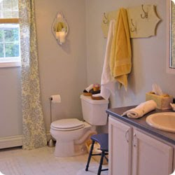 Simply home designs home interior design decor may 2010 for Summer bathroom decor