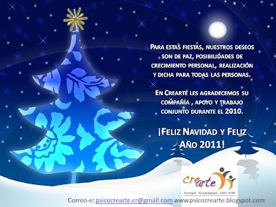 Crearte buenos deseos para la navidad y el 2011 - Deseos de feliz navidad ...