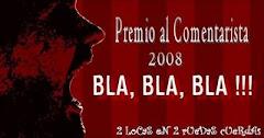"""""""Premio al Comentarista 2008"""""""