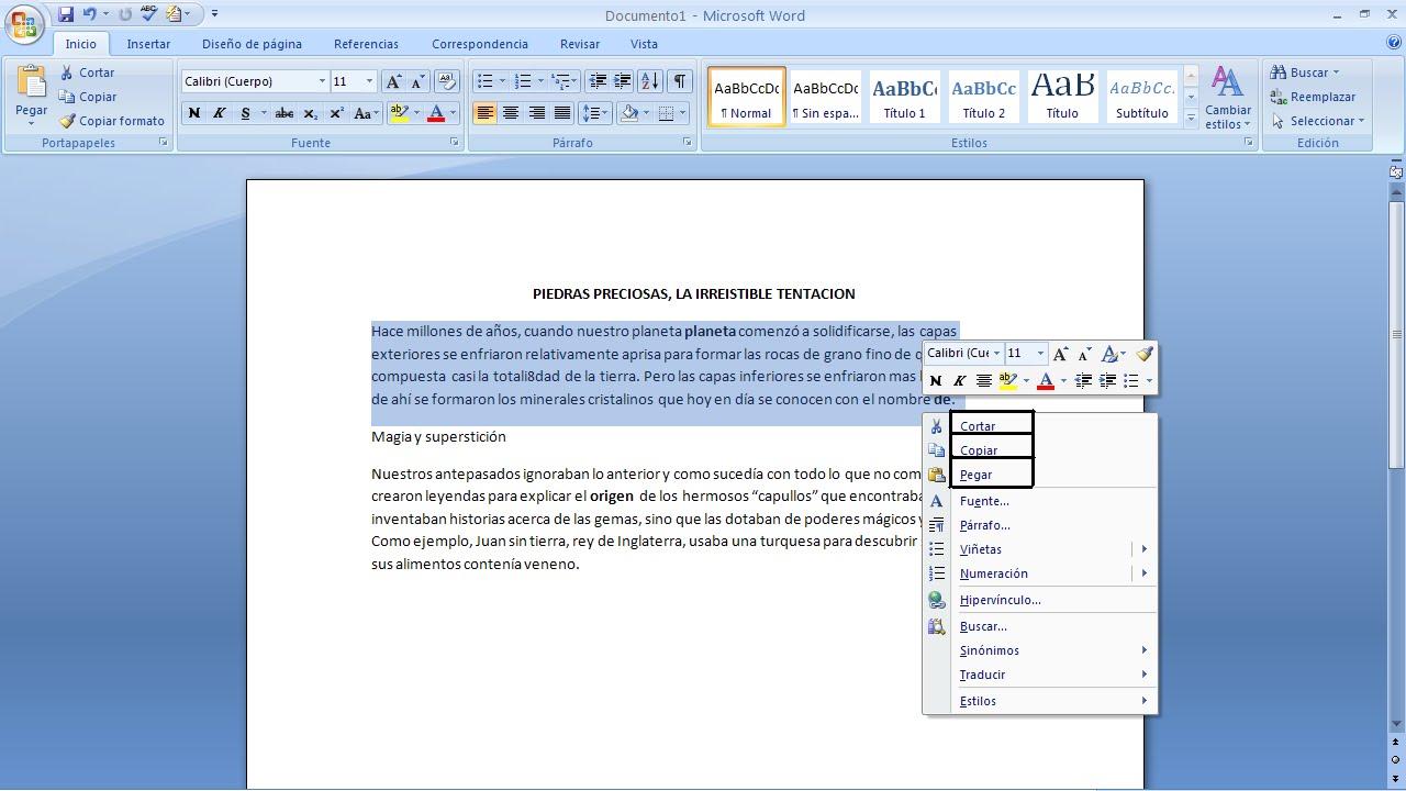 como pegar pdf a word