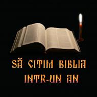 Citirea Bibliei Intr-un An