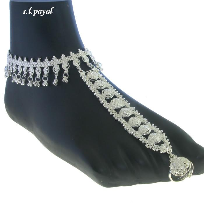 payal design: S.L.PAYAL ANKLET FANCY& SILVER PAYAL