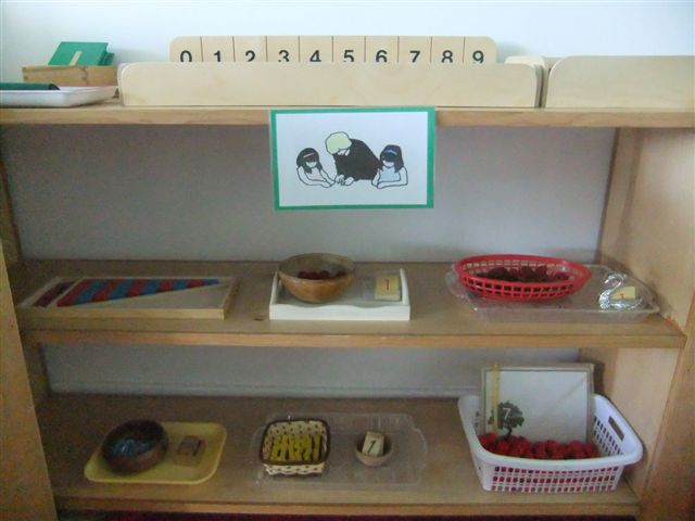 NAMC montessori circle time routines first day shelves tables mats work