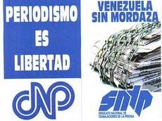 Periodismo es Libertad y Venezuela sin Mordaza. CNP y SNTP