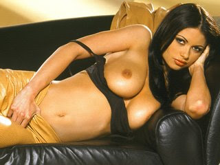 Stunning Prague pornstar Veronika Zemanova plays a sexy housewife giving a sultry striptease